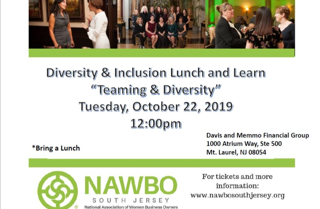 Diversity & Inclusion Committee Lunch & Learn – 10.22.19