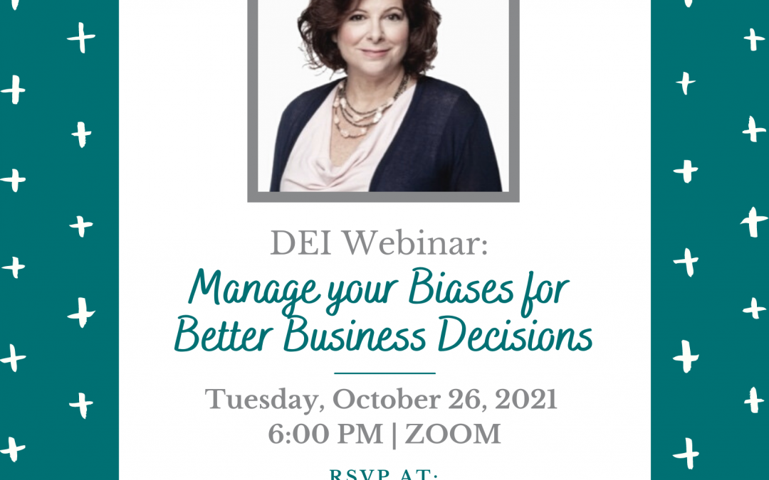 Webinar: Manage Your Biases For Better Business Decisions